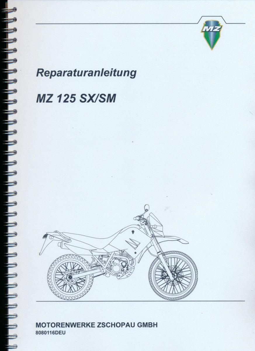 MZ 125 SX/SM Repair Manual Download - Tradebit