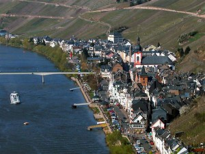 "Stadt ""Zell-Mosel"" in Rheinland-Pfalz"